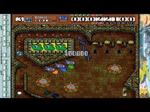 Dino Land [超闘竜烈伝ディノランド] Game Sample - X68000