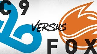 Video C9 vs. FOX - Week 3 Day 2 | NA LCS Summer Split | Cloud9 vs. Echo Fox (2018) download MP3, 3GP, MP4, WEBM, AVI, FLV Agustus 2018