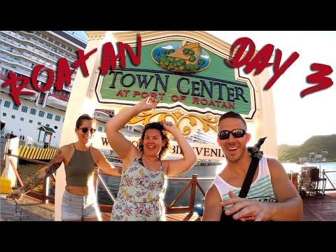 NORWEGIAN GETAWAY CRUISE - DAY 3 (ROATAN, HONDURAS)