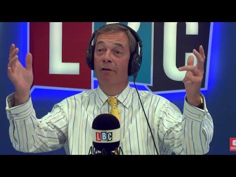 The Nigel Farage Show: Leaked Gov Document & Jacob Rees-Mogg's views. LBC - 6th Sept 2017