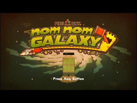 Pixel Junk Nom Nom Galaxy GAMEPLAY First 15 Minutes |