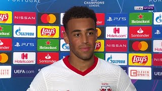 Match-winner Tyler Adams has a special message for all American fans after historic win