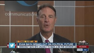 Evan Bayh: Unlikely to run for governor again