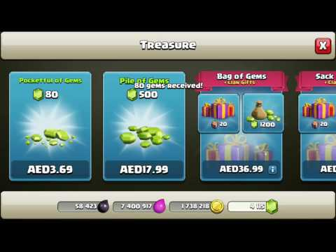 How to donate gems to clanmates/ new update /clash of clans