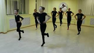 Видео-урок (I-семестр: декабрь 2017г.) - филиал Центральный, группа 11-17 лет, Современный танец