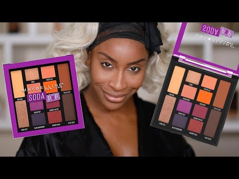 Maybelline..! IDK... The Soda Pop Palette... | Jackie Aina