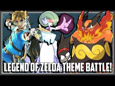 Pokemon Theme Battle - Legend of Zelda Ft. Original151