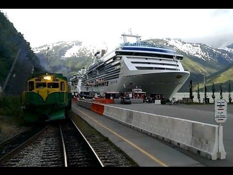 Time lapse:  White Pass & Yukon Route Railroad