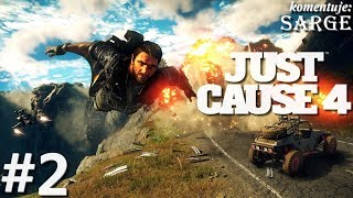 Just Cause 4 (PS4 Pro gameplay 2/3) - Za liniami wroga