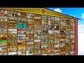 Попросил 120 Игроков построить свои комнаты в Гигантском майнкрафт доме!