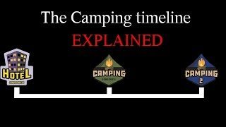 Roblox Camping trilogy timeline Explained! (Theory!)