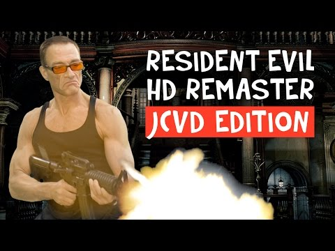Resident Evil HD Remaster Jean-Claude Van Damme Edition