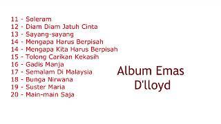 Album Emas D'lloyd vol 2