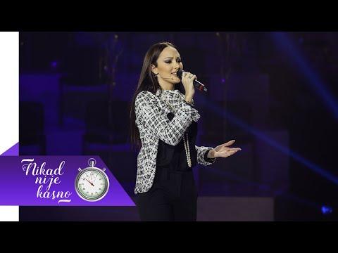 Aleksandra Prijovic - Opet imam razloga da zivim - (live) - NNK - EM 10 - 17.01.2021 - Nikad nije kasno