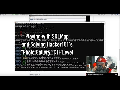 """Playing With SQLMap And Solving Hacker101's """"Photo Gallery"""" CTF Level"""