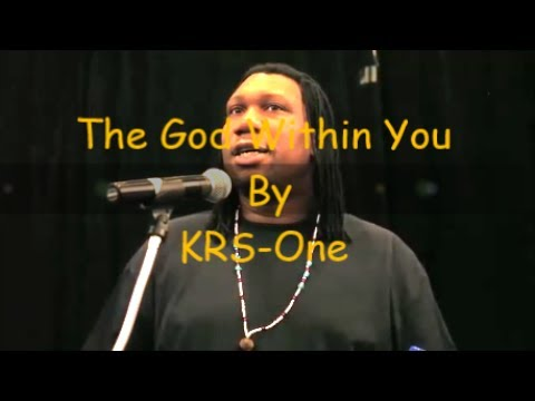 KRS-One - The God Within You !!! (HD)
