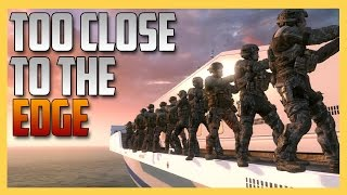 Too Close To The Edge Mode - how far out can you go without dying?