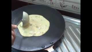 Srirangam Radhu Vegetable Omelet