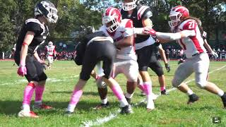 Anthony Henriquez Jr #1 Fb/Lb Hoboken Redwings 2019 Football HIGHLIGHTS