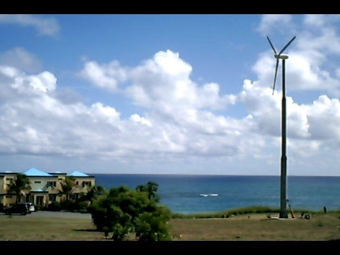 ReDriven wind tubine in the Virgin Islands