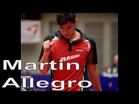 Martin ALLEGRO Best Of 2015   Table Tennis Belgium