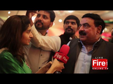 Watch Sheikh Rasheed rare Interview in English.