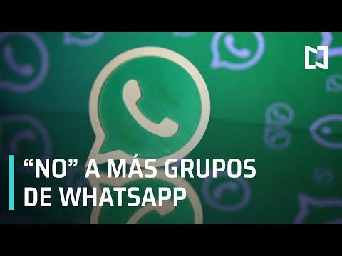 WhatsApp impedirá añadir a grupos - Las Noticias con Claudio