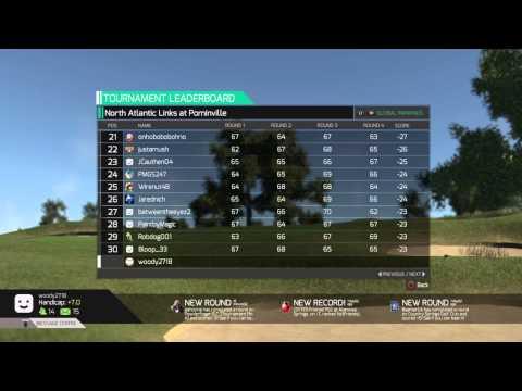 PGA W02 PS4 Leaderboard