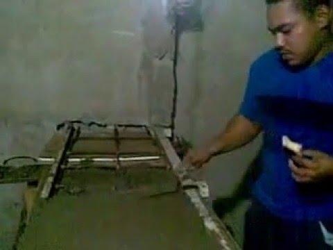 Creacion de un meson de cemento casa de oscarcillo part 2 for Desayunadores de concreto