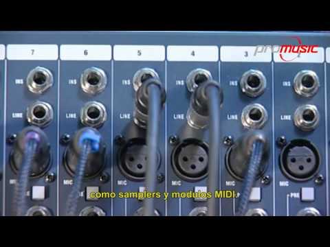 Conectando señales a la consola