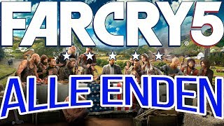 Far Cry 5 Guide - Alle Enden - All Endings - Cutscenes