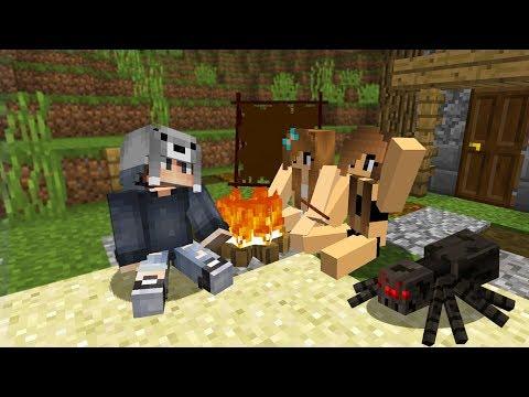 TEHLİKELİ ADADA KIZLARLA MAHSUR KALDIM! 😱 - Minecraft