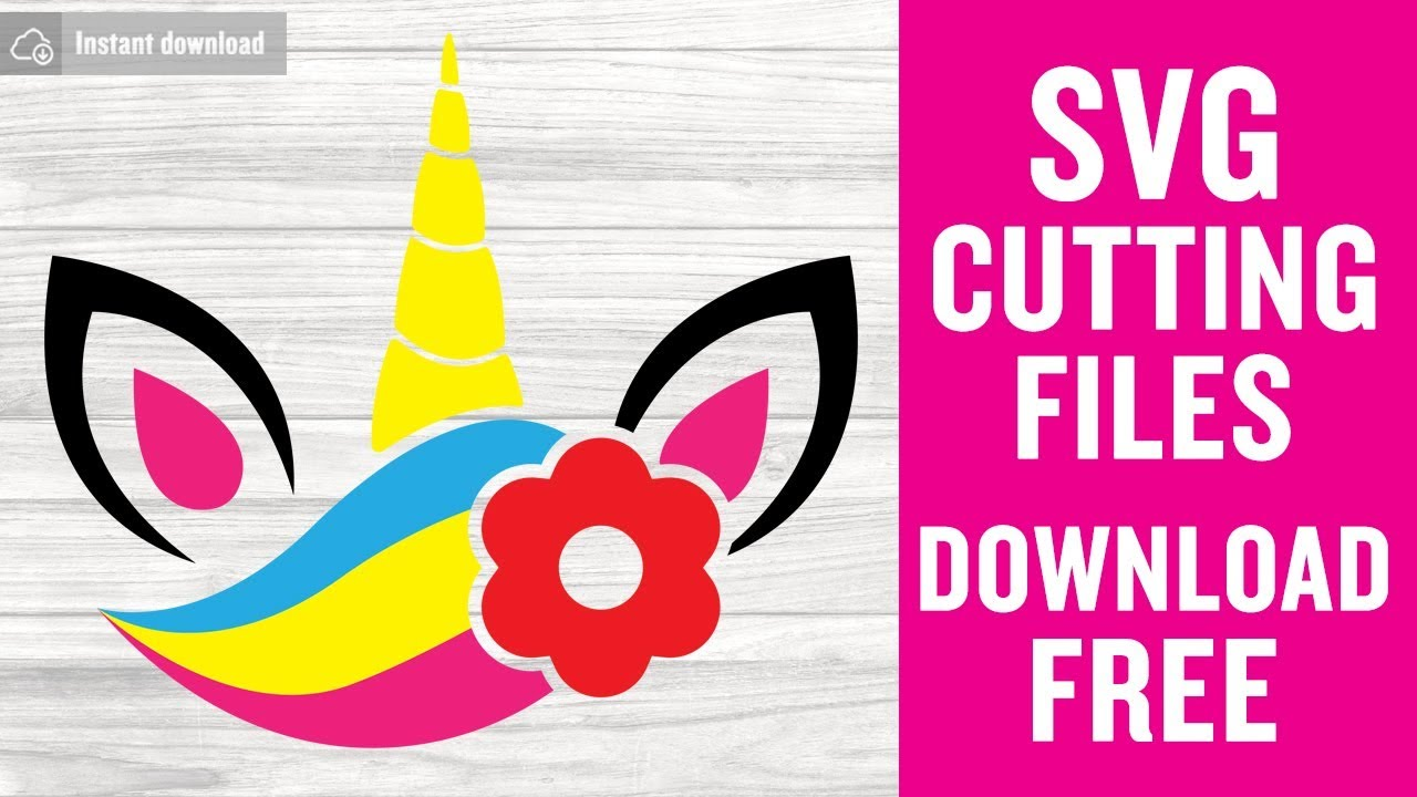Download Unicorn SVG Free Cutting Files for Cricut Design Space ...