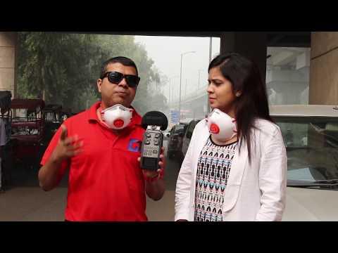 Fix Air Pollution Delhi, Roz Pehene Mask Accha Rakhe Swasth   GTU Social Initiative #1