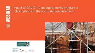 Impact of COVID-19 on public works programs: policy options in the short and medium term
