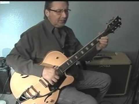 WALKIN' AFTER MIDNIGHT Fingerstyle Guitar Arrangement Lesson Demo