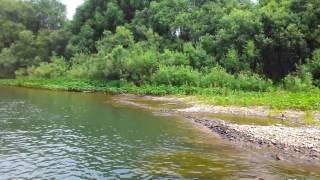 Река Тайдон, Кемеровская область, отличный отдых рыбалка 2016(ч.1)