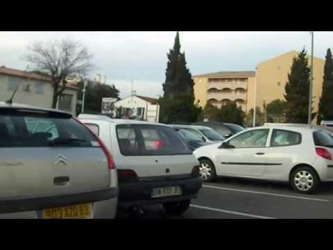 2012-03-21 Fahrt von Les Issambres über Saint-Maxime nach Grimaud