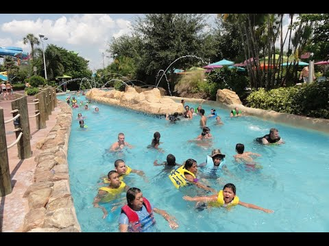 Roa's Rapids Aquatica Waterpark Orlando, Florida.