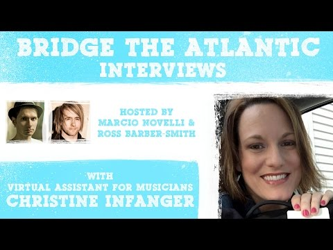 Christine Infanger: The Business of Music, Integrity & Building a Team (Interview 2016)