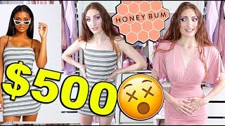 $500 HONEYBUM HAUL AND TRY ON!! Fashion Nova is QUAKING 😱