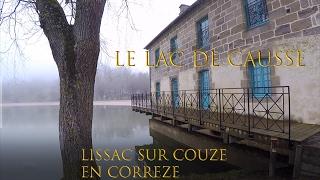 Lissac sur Couze, le lac du Causse en Correze