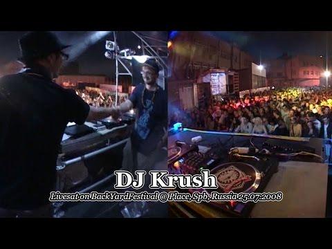 DJ Krush • livesat on BackYardFestival @ Place, Spb, Russia 25.07.2008