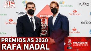 Premios AS 2020 | Rafa Nadal, Premio AS del Deporte 2020 | DIARIO AS