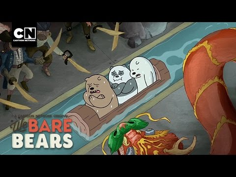 Log Ride | Minisode | We Bare Bears | Cartoon Network