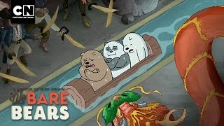 Log Ride | Minisode | We Bare Bears | Cartoon Network thumbnail