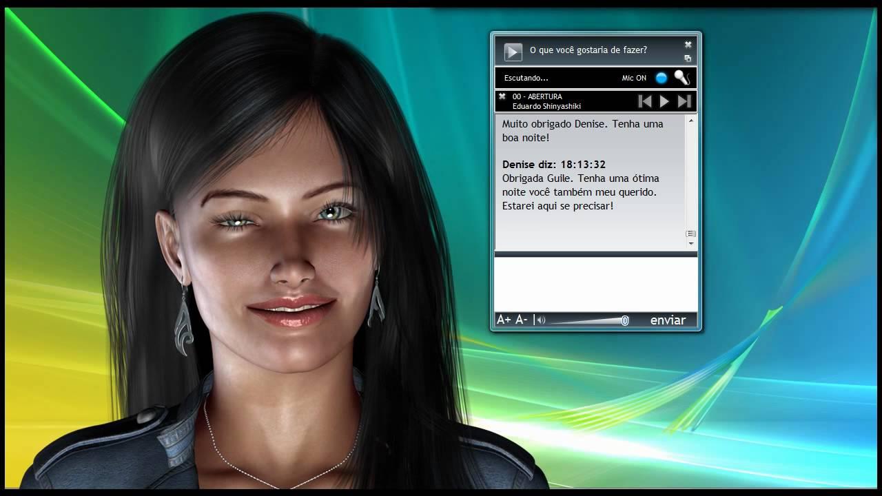 assistente virtual denise 1.0 para