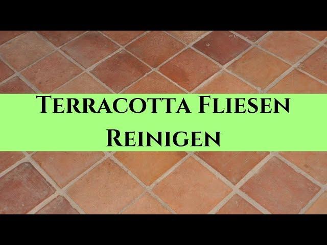 Terracotta Fliesen Reinigen Naturstein Tipps Vom Stein Doktor