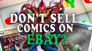 Buying An Entire Comic Book Store - EBAY FEES AND PROBLEMS