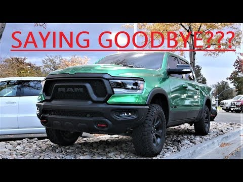 I'm Selling My 2019 Ram Rebel With Less Than 5,000 Miles...Here's Why!